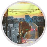 Forest And Frazier Round Beach Towel