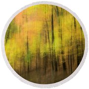 Forest Impressions Round Beach Towel
