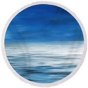 Forever Sea Round Beach Towel