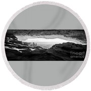Forever View Round Beach Towel by Kristal Kraft