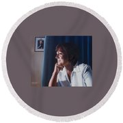 Forever Young Round Beach Towel