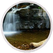 Forged By Nature Round Beach Towel