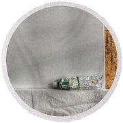 Forgotten Round Beach Towel by Isabella F Abbie Shores FRSA