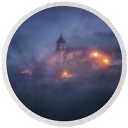 Forgotten Realms Round Beach Towel