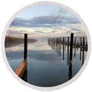 Forked River Four Round Beach Towel