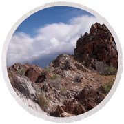 Formations Round Beach Towel