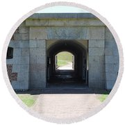 Fort Moultrie Round Beach Towel