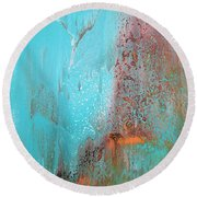 Fortuity  Round Beach Towel