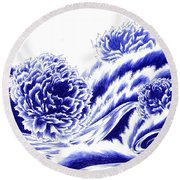 Fortunes Of Life - On The Tide Round Beach Towel