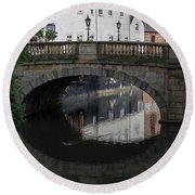 Foss Bridge - York Round Beach Towel