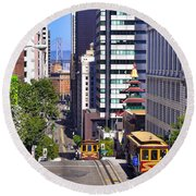 Four Points - San Francisco Round Beach Towel