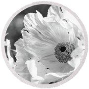 Fragile And Strong Round Beach Towel