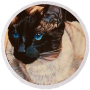 Freddy Round Beach Towel