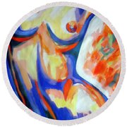 Free Spirit Round Beach Towel