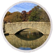 Freedom Park Bridge Round Beach Towel