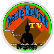 Freeing The Minds Supporter Round Beach Towel
