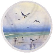 Freely Round Beach Towel