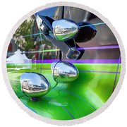 Freightliner Abstract Round Beach Towel