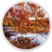 French Creek 15-107 Round Beach Towel