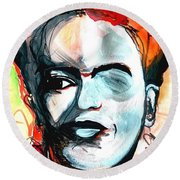 Frida Round Beach Towel