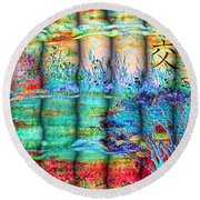 Friendship Round Beach Towel