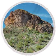 From Apache Trail Round Beach Towel by Greg Nyquist