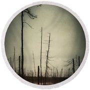 From The Ashes Round Beach Towel