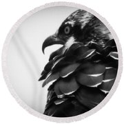 From The Series The Osprey Number 4 Round Beach Towel