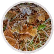 Frosted 2 Round Beach Towel
