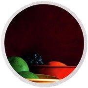 Fruit Art Photograph Round Beach Towel
