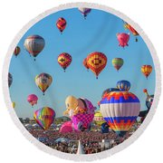 Funky Balloons Round Beach Towel