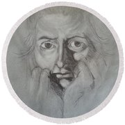 Fuseli Round Beach Towel
