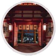 Fushimi Inari Taisha, Kyoto Japan 2 Round Beach Towel