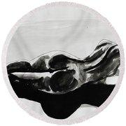 Gaia Consciousness Round Beach Towel