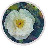 Garden Beauty Round Beach Towel by Kathie Chicoine