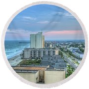 Garden City Beach Round Beach Towel