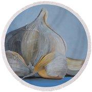 Garlic IIi Round Beach Towel