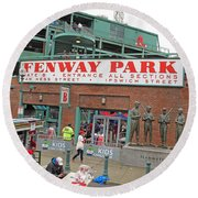 Gate B Fenway Round Beach Towel
