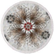 Gear Lace Round Beach Towel