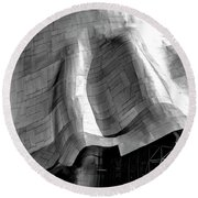 Gehry Emp Seattle Round Beach Towel