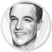 Gene Kelly 23aug18 Round Beach Towel