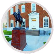 General Jackson County Round Beach Towel by Dave Luebbert