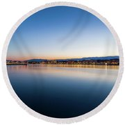 Geneva Round Beach Towel