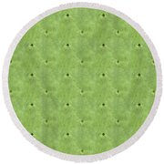 Geometric Prickles Round Beach Towel