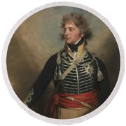 George Iv, When Prince Of Wales Round Beach Towel