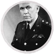 George Marshall Round Beach Towel