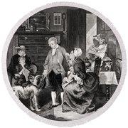 George Washington 1732 To 1799 Hears Round Beach Towel