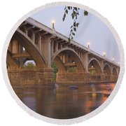 Gervais Bridge Round Beach Towel
