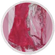 Ghosts Of The Horror Tree Round Beach Towel