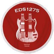 Gibson Eds 1275 Round Beach Towel